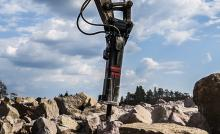 Экскаватор гусеничный 400 (Гидромолот) Hammer HB 330