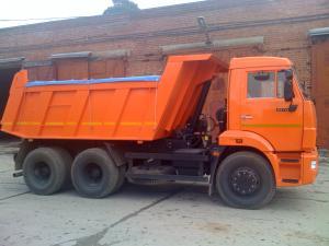 Аренда самосвала 15 тонн КамАЗ 65115