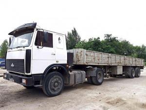Длинномер Маз 642208 20 тонн