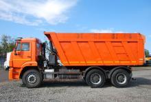 Аренда самосвала КАМАЗ 6520 20 тонн