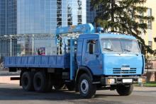 Манипулятор 10 тонн, Камаз 53215