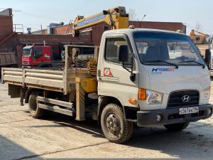 Манипулятор 5 тонн Hyundai hd 74