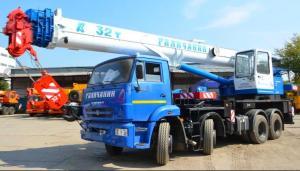 Автокран Галичанин КС-55729-1В-3 32 тонны 30м