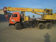 Автокран Ивановец 16 тонн КС-35714