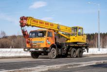 Автокран Клинцы 25 тонн КС-45717К-1
