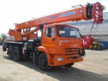 Автокран Клинцы 25 тонн КС-55713-1К-1