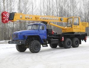 Автокран Галичанин 25 тонн КС-55713-3 Вездеход