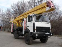 Автовышка КамАЗ ВС-22
